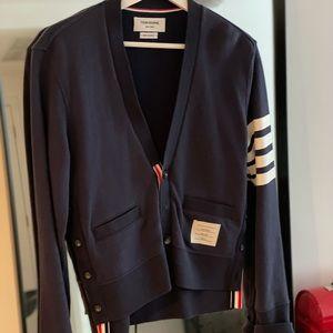 Thom Browne Cotton Cardigan Size0